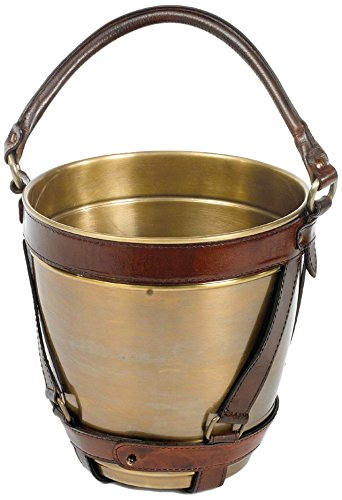 Go Home Leather Handle Champagne Bucket by Go Home