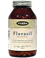 Florasil 4.7mg Silicon (from 10mg Silica from Hosetail Herb) (360Capsules) Brand: Flora