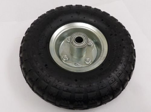 New MTN-G (2) 10'' AIR TIRES Wheels for Handtruck Dolly Go Kart Wagon Hand Truck by MTN Gearsmith (Image #1)