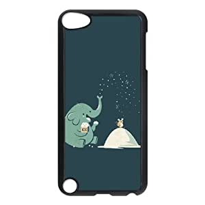 DIY Elephant Theme Phone Case Fit To iPod Touch 5 , A Good Gift To Your Family And Friends