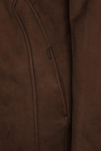 DreiMaster - Abrigo - Básico - Manga Larga - para mujer marrón oscuro
