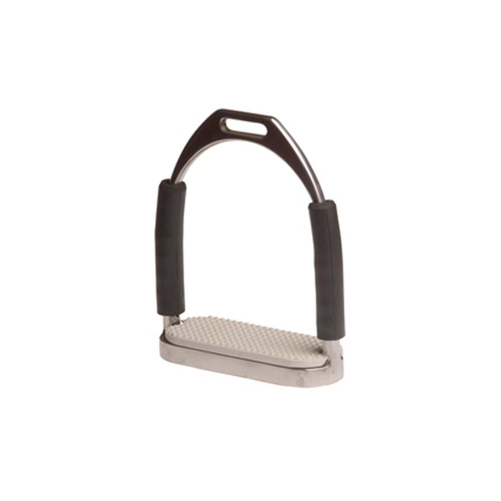 Umbria Riding Brackets Stainless Articulated with Rubber Mat