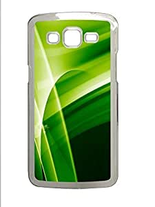 Samsung 2 7106 Case Green Abstract N005 PC Samsung 2 7106 Case Cover Transparent