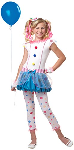 California Costumes Dotsy Clown/Tween Costume, One Color, Large]()