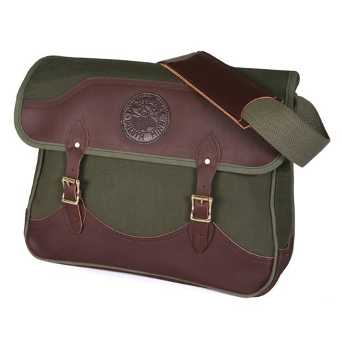 Duluth Pack Deluxe Book Bag, Olive Drab, 11 x 16 x 4-Inch by Duluth Pack