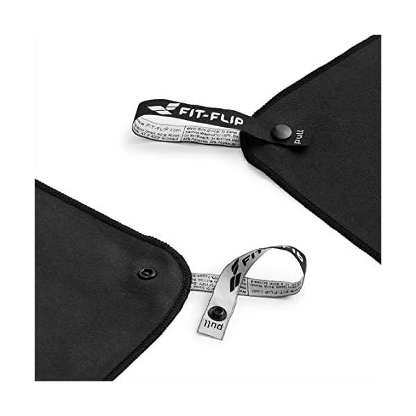 Fit-Flip Asciugamano in Microfibra – in Tutti i Colori, 8 Misure – Compatto & Ultraleggero – Microfibra Asciugamano – Il… 6 spesavip