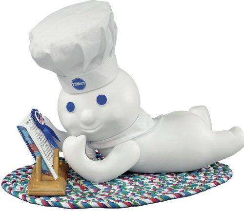Pillsbury Doughboy Danbury Mint Porcelain Doll Recipe Time ()