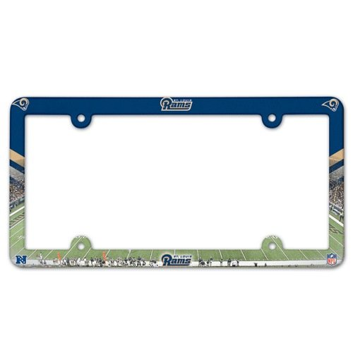 NFL St. Louis Rams License Plate Frame (2-Pack) by TeamFanatics