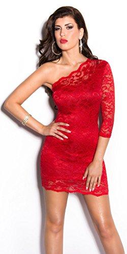 In-Stylefashion - Vestido - para mujer Rojo