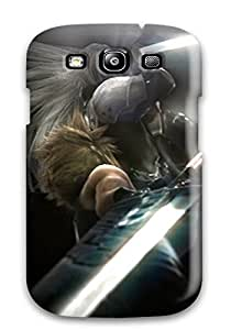 Galaxy S3 Case Cover - Slim Fit Tpu Protector Shock Absorbent Case (sephiroth)