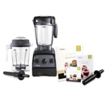 Vitamix CIA Professional Series 300 Onyx Blender With 64 Ounce Wet Container and 48 Ounce Wet Container by Vitamix