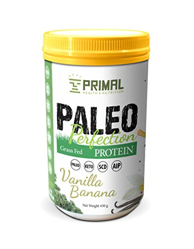 Primal Health – Paleo AIP Protein Powder | Grass-fed Beef Collagen | Vanilla Banana Flavor | 1 Pound 30 Servings Review