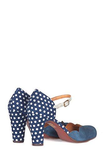 Chie Mihara Kvinder Queresablue Blå Ruskind Sandaler pytmOwf