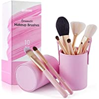 10-Piece Kaier Cat Travel Makeup Brush Set