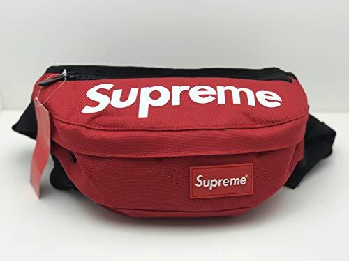 1b6b8becfd8 Sportula Fanny Pack Supreme Travel Bum Bags Running Pocket for Men Women  (Red)