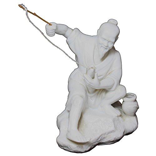Chinese Fisherman - Chinese Figurine Fisherman