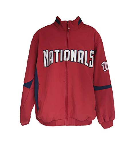Men's Nationals Premier Jacket Red/Navy Size 2X
