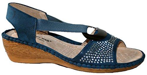 Cushion Walk - Zapatos con tacón mujer blue diamante