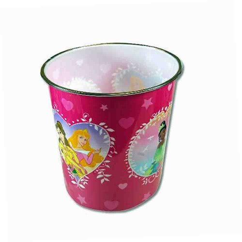Disney Princess Plastic Trash Can Disney Plastic Wastebasket