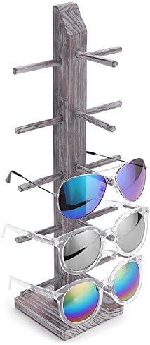 MyGift Whitewashed Barnwood Sunglasses Tabletop product image