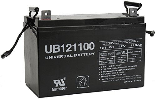12V 110Ah AGM Battery Replaces SUVPR 220V 1500W Off-grid Storage System