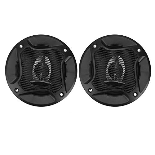 Daphot-Store - 2pcs 4inch 250W 2-Way Coaxial Car Speaker Refitting Subwoofer Speaker