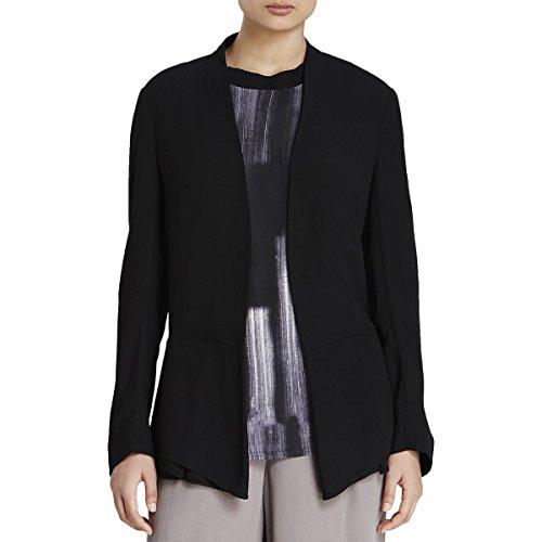 Dkny Puffer Jacket - DKNY Pure Womens Long Sleeves 2 Button Basic Jacket Black L