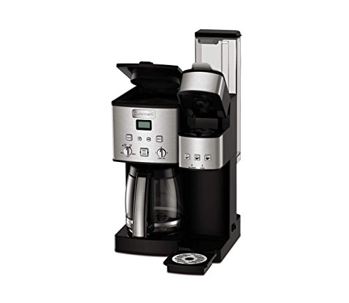 Cuisinart Ss-15 12-cup Coffee Maker & Single-serve Brewer, Stainless Steel