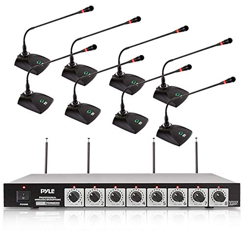8 Channel Wireless Microphone