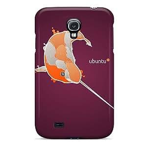 UTQmMKz2444CtKdS Ubuntu Linux Natty Narwhal Fashion S4 Case Cover For Galaxy