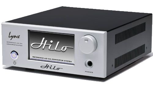 Lynx HiLo A/D D/A Converter System in Silver by Lynx Studio Technology