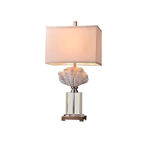 Lámparas de escritorio - Lámpara de mesa de cristal moderna ...