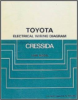 [QMVU_8575]  1988 Toyota Cressida Wiring Diagram Manual Original: Toyota: Amazon.com:  Books | 1988 Toyota Wiring Diagram |  | Amazon.com