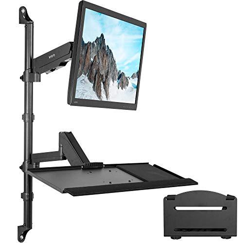 VIVO Black Sit-Stand Height