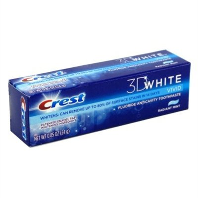 Crest 3d Tp Rad Mint Size .85z Crest 3dw Toothpaste Radiant