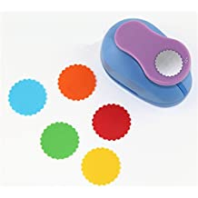CADY Crafts Punch 1.5-Inch Paper Punches Craft Punches Wave circle