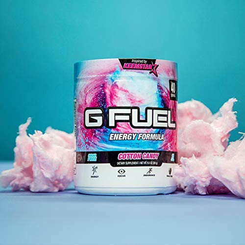 G Fuel Cotton Candy Tub (40 Servings) Elite Energy and Endurance Formula 9.8 oz. by G Fuel (Image #5)