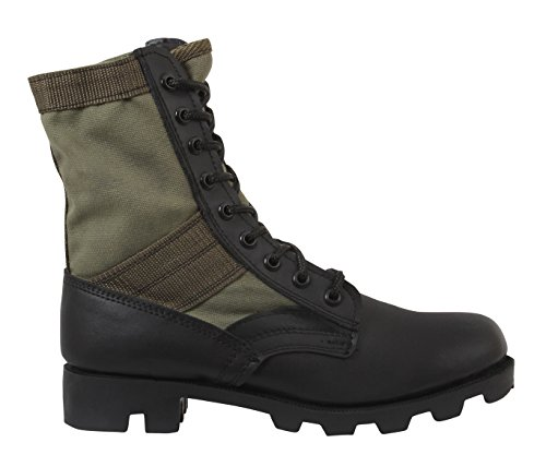 Rothco Drab Boot Type 8'' Jungle Olive GI rzwnPrq7Y