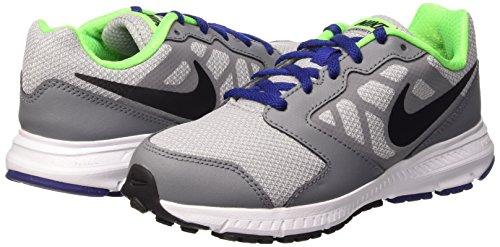 Nike Downshifter 6 (GS/PS) - Zapatillas para niño Gris (Wolf Grey / Black Dp Ryl Bl Wht)