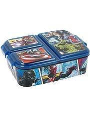 Theonoi Kids broodtrommel / lunchbox / sandwichbox selecteerbaar: Avengers - Mickey - Paw van kunststof BPA vrij - leuk cadeau voor kinderen (Avengers)