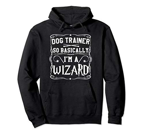 Magical Dog Trainer So Basically I'm A Wizard pullover ho -