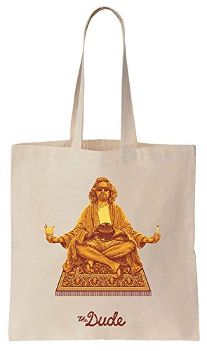 Algodón de Bolsos Bag Dude The Reutilizables Tote Meditate de Compras 7IqIXzwx