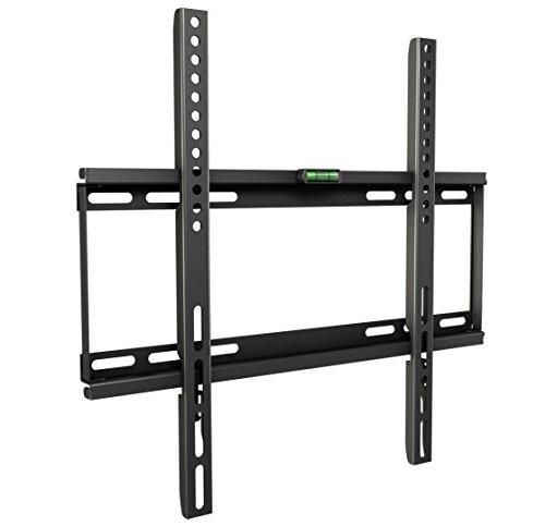 RICOO TV Wandhalterung F0144 Fernseher Halterung LCD TV Wandhalter LED LCD TFT Monitor Flachbildschirm 66 - 127cm / SUPER-SLIM mit nur 25mm Wandabstand