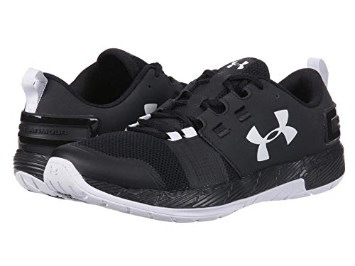 [UNDER ARMOUR(アンダーアーマー)] メンズランニングシューズ?スニーカー?靴 UA Commit TR X NM Black/White/White 11 (29cm) D - Medium
