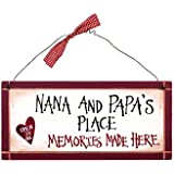 Ohio Wholesale Nana and Papas Sign Wall Art, from our Grandma-pa Collection