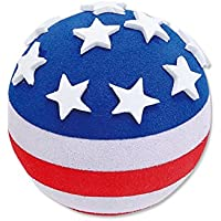 Tenna Tops Car Antenna Topper/Antenna Ball/Mirror Dangler/Desktop Spring Stand Bobble (USA American Flag)