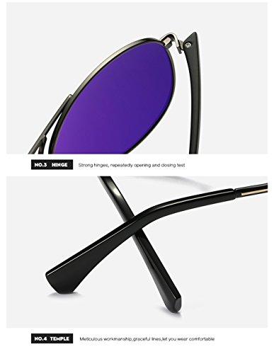 UV para C3 Sol De para Polarizadas Protección Gafas C4 Mujer Hombre 400 Aviator xgzUfqwZ