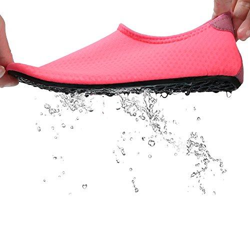 Water Mesh Mens Peach Beach Sneakers Feetcity Women dry Quick Shoes Barefoot Swim Yoga Boat Surf SR65dqw5x