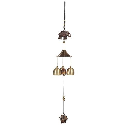 3 Stücke chinesische Metall Glocke Glocken Kreativen Hausgarten Dekor