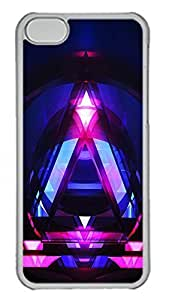 TYH - iPhone 5C Case Abstract Designs Id03 PC Custom iPhone 5C Case Cover Transparent ending phone case